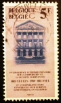 Stamps Belgium -  4ª Conferencia Interparlamentaria