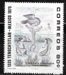 Stamps : America : Mexico :  Tenochtitlán