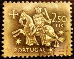 Stamps Portugal -  Caballeros medievales