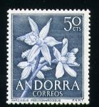 Stamps Europe - Andorra -  Narcissus Pseudonarcissus