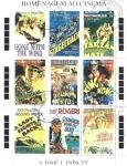 Stamps Africa - São Tomé and Príncipe -  Carteles de películas, Películas