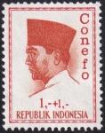 Stamps Indonesia -  Presidente Sukarno 1+1