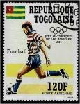 de Africa - Togo -  Juegos Olímpicos de Verano, Fútbol