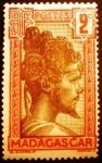 Stamps Madagascar -  Madagascar Francesa. Jefe Sakalave