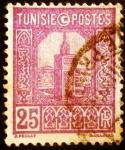 Sellos de Africa - Túnez -  Túnez Francés. Gran Mezquita de Tunicia