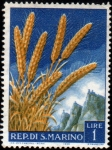 Stamps San Marino -  Agricultura-1958