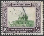Sellos de Asia - Jordania -  Mezquita