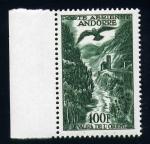 Stamps Andorra -  la orilla oriental