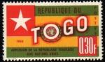 Stamps Africa - Togo -  Ingreso en la ONU-1960