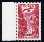 Stamps Andorra -  orilla oriental