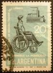 Stamps Argentina -  Día de la rehabilitación