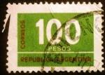 Stamps Argentina -  Cifras