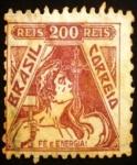 Stamps Brazil -  Alegoría de la Fe y Energía