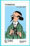 Stamps Europe - France -  Personajes de Tintín - Profesor Silvestre Tornasol
