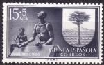 Sellos de Africa - Guinea Ecuatorial -  Día del sello(Escudo de Bata)