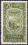 Stamps Equatorial Guinea -  Día del sello(Escudo de Santa Isabel)