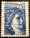 Stamps France -  Sabine. República Francesa