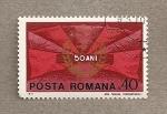 Sellos de Europa - Rumania -  Emblema del Partido Comunista