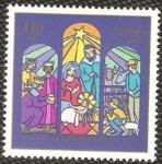 Stamps : Europe : Germany :  navidad 2000