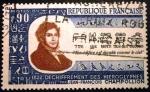 Stamps France -  Jean-François Champollion.   150 aniversario del desciframiento de los jeroglíficos