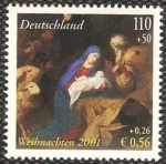 Stamps : Europe : Germany :  navidad 2001