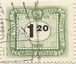 Sellos de Asia - Hungría -  PORTÓ BELYEG