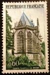 Stamps France -  Turismo. Santa Capilla de Riom