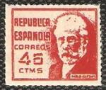 Stamps : Europe : Spain :  Pablo Iglesias