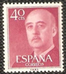 Stamps : Europe : Spain :  1148 - Franco