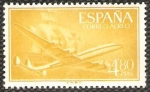 Stamps : Europe : Spain :  1176 - Superconstellation y nao