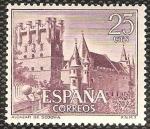 Sellos del Mundo : Europa : España : 1739 - Castillo Alcazar de Segovia