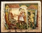 Stamps France -  Arte francés. Iglesia de San Savin (Viena)