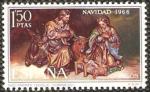 Sellos de Europa - España -  1764 - Navidad, Nacimiento cuadro de Duque de Cornejo