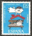 Stamps : Europe : Spain :  1801 - Pro Cáritas española