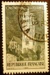Stamps France -  La Catedral de Rodez
