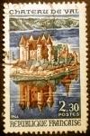 Stamps France -  Castillo de Val