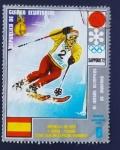 Stamps Equatorial Guinea -  Medallas Oro Sapporo 72