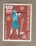 Sellos de Europa - Rumania -  Juegos olímpicos de invierno Innsbruck