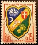 Stamps France -  Escudo de Argel