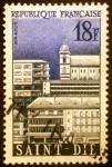 Stamps France -  Saint Dié. Pueblos reconstruidos