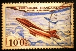 Stamps France -  Correo aéreo. Mistere IV