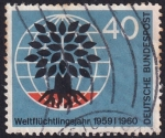Stamps Germany -  año mundial de los refugiados