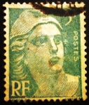 Stamps France -  Marianne de Gandon