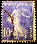 Stamps France -  Semeuse