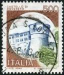 Sellos de Europa - Italia -  Castillo Rovereto