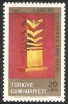 Stamps Turkey -  premio internacional ataturk, para la paz