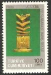 Stamps Turkey -  premio internacional ataturk para la paz
