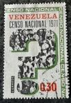 Stamps Venezuela -  Censo Nacional