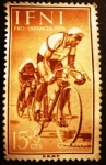 Stamps Spain -  IFNI. Pro infancia. Ciclismo