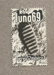 Sellos de America - México -  luna 69